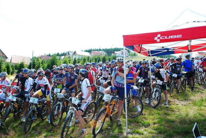 Ultimele momente inainte de startul Maratonului TransAlpin Bike Ranca 2011