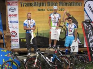 Podium Transalpin Bike Marathon 2012